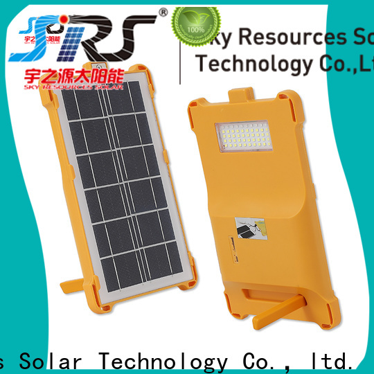 SRS High-quality solar panel flood lights home depot for business for village