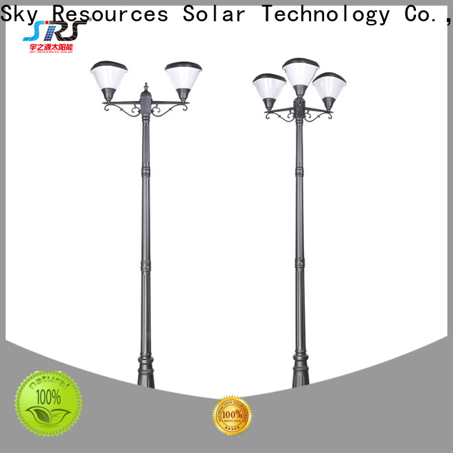 SRS Latest solar powered garden lamps for business for posts