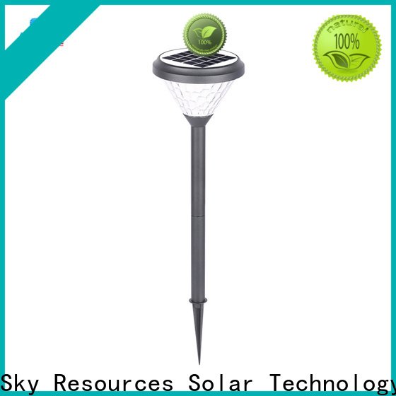 SRS rechargeable led lawn light manufacturers for umbrella