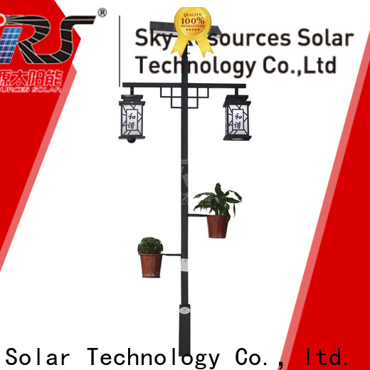 SRS yzyty086001 solar garden wall lights suppliers for shady areas