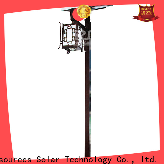 SRS New big outdoor solar lights for business for walls