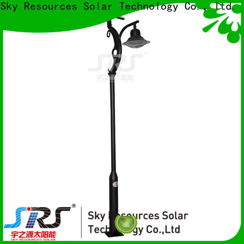 SRS tall solar lawn lamps company for shady areas