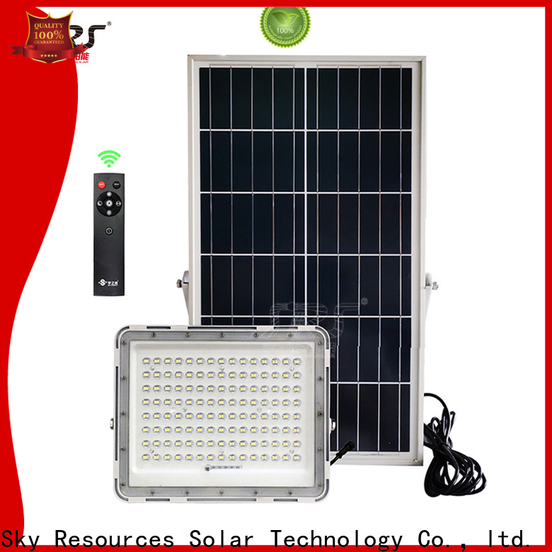SRS Wholesale large solar flood lights factory for home use