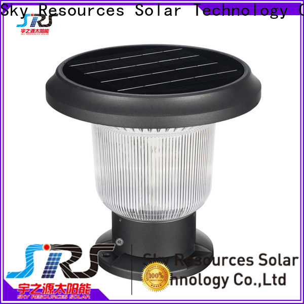 SRS yzycp0824104z solar pole lamp supply for home use