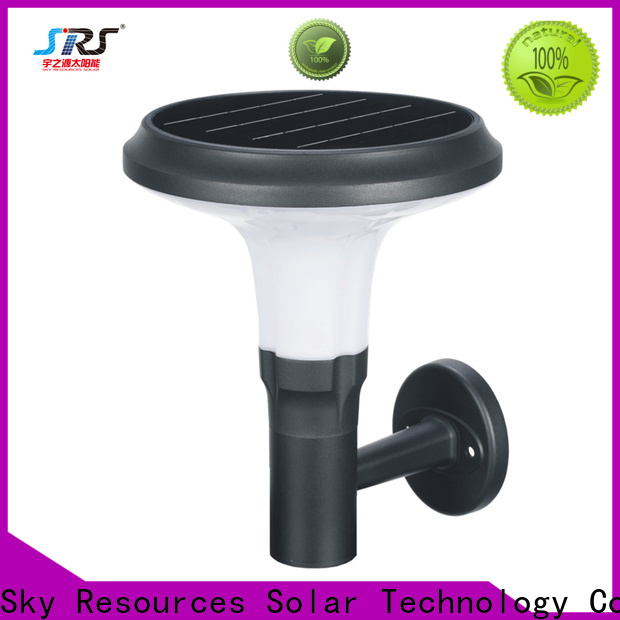 High-quality led solar outside wall lights exterior manufacturers for public lighting