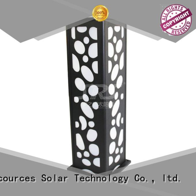 SRS outdoor lawn lamps manufaturer for posts