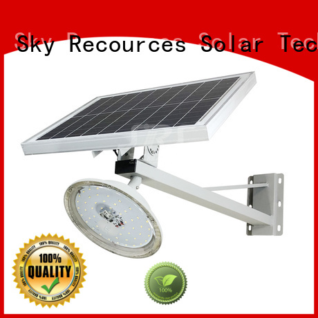 SRS waterproof wholesale solar led street light specification for flagpole