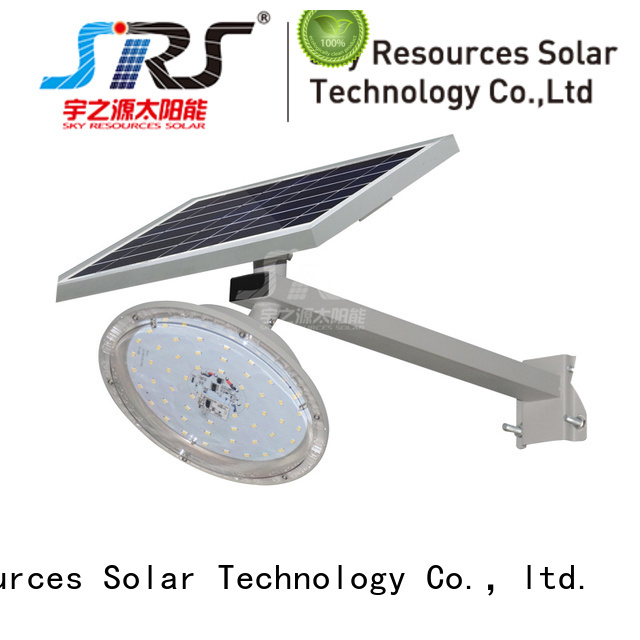 bifacial integrated solar led street light specification for flagpole