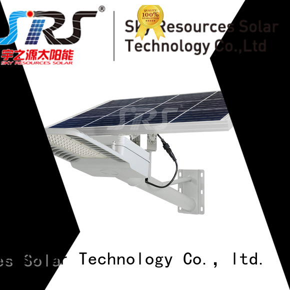 bifacial decorative solar street lights with battery for fence post