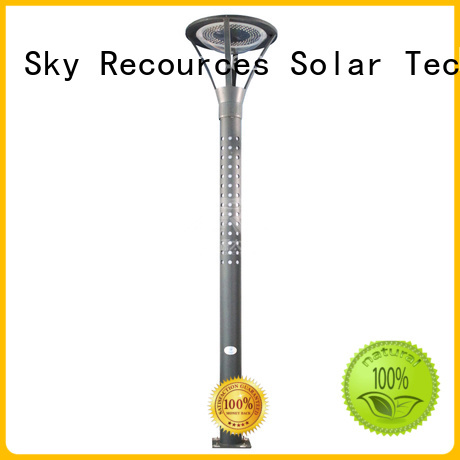 SRS outdoor solar garden lights uses for posts