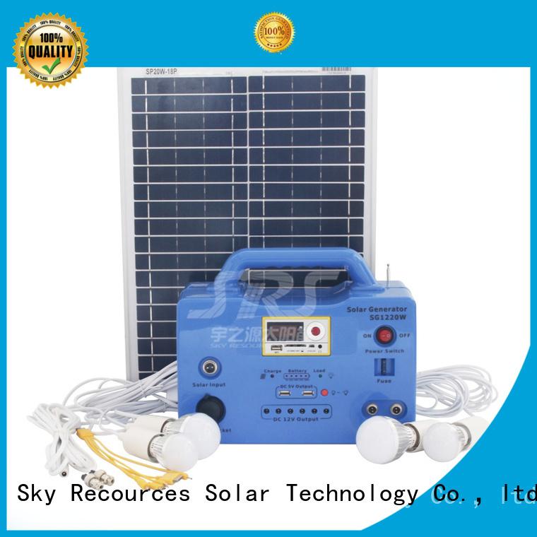 solar power system application for public lighting SRS