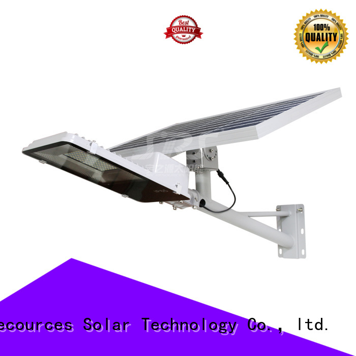 SRS solar powered road lights with battery for school