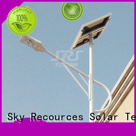 cheap solar street light post manufaturer for garden