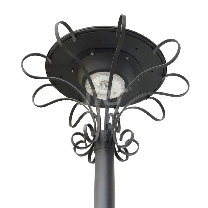 Custom Stainless Steel Smart Solar Powered Garden Lamps Wholesale