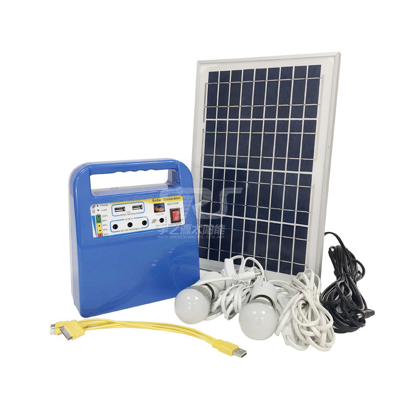 Solar Lighting System for Home with Radio 10w Supplier YZY1210W