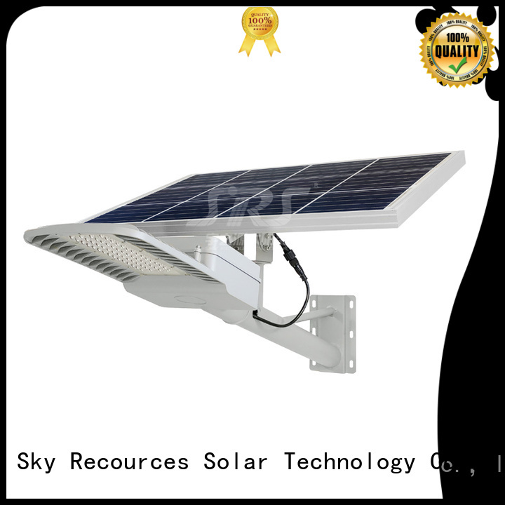 SRS fix semi-integrated solar street light price list for flagpole