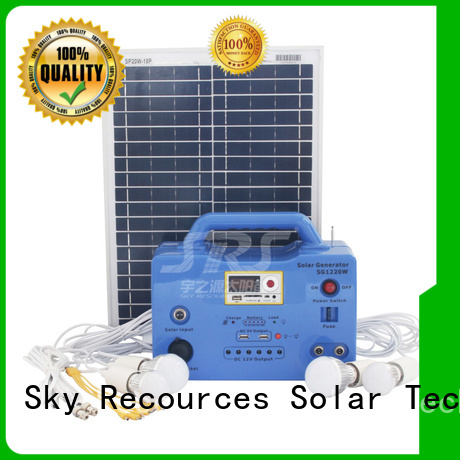 panel solar system project for home