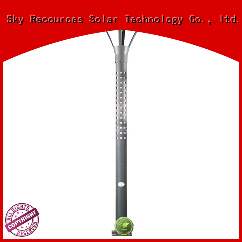 SRS national best solar garden lights make in China for shady areas