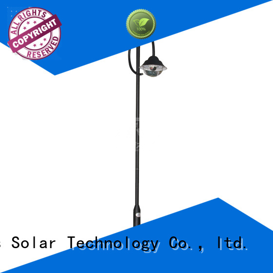 SRS high quality powerful solar garden lights products for posts