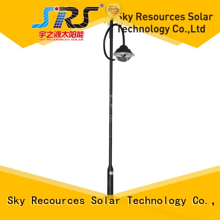 SRS decorative solar garden lights make in China for walls