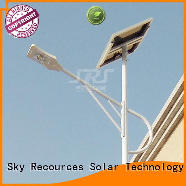 SRS best outdoor solar street lights supply for outside
