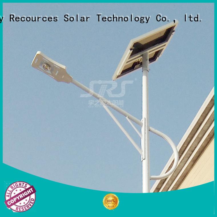SRS cheap solar street light post for home