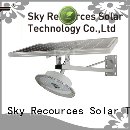 SRS semi-integrated solar street light price list for fence post