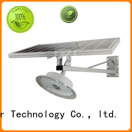 SRS cheap semi-integrated solar street light diagram for flagpole