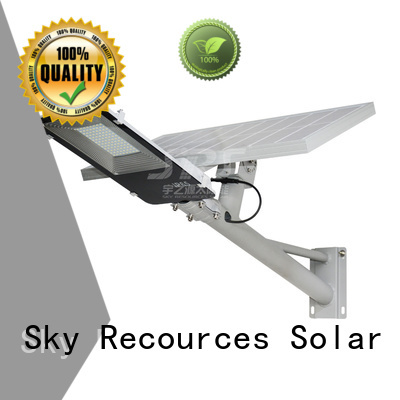 SRS cheap solar road light configuration for flagpole