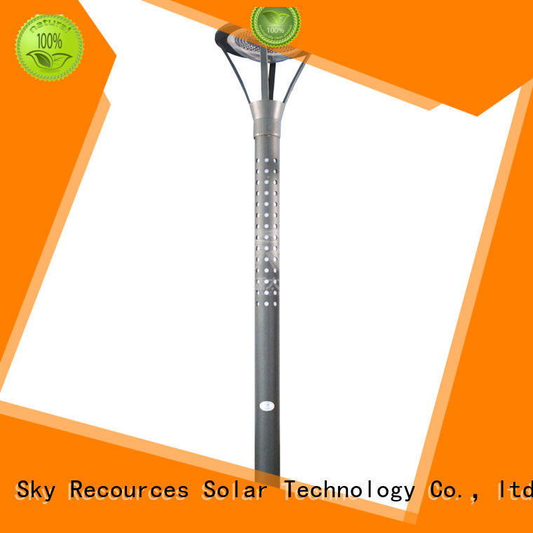 SRS solar powered garden lamps products for trees