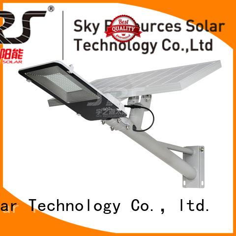 SRS fix solar road light diagram for school