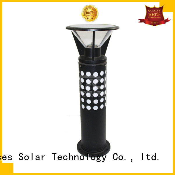 SRS integrated waterproof solar lights for patio
