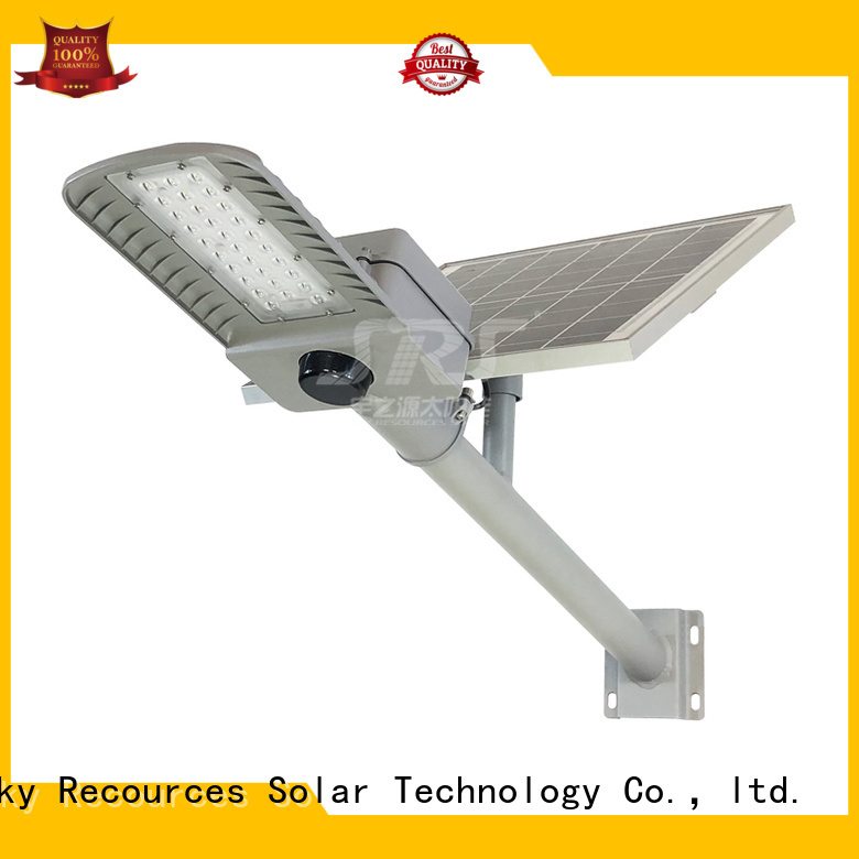 SRS luminous solar street light with battery for school
