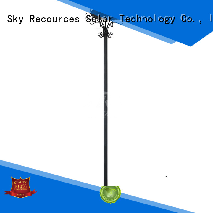 SRS smart solar garden stake lights for posts