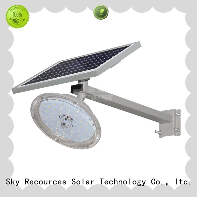 SRS solar light manufacturer with battery for flagpole