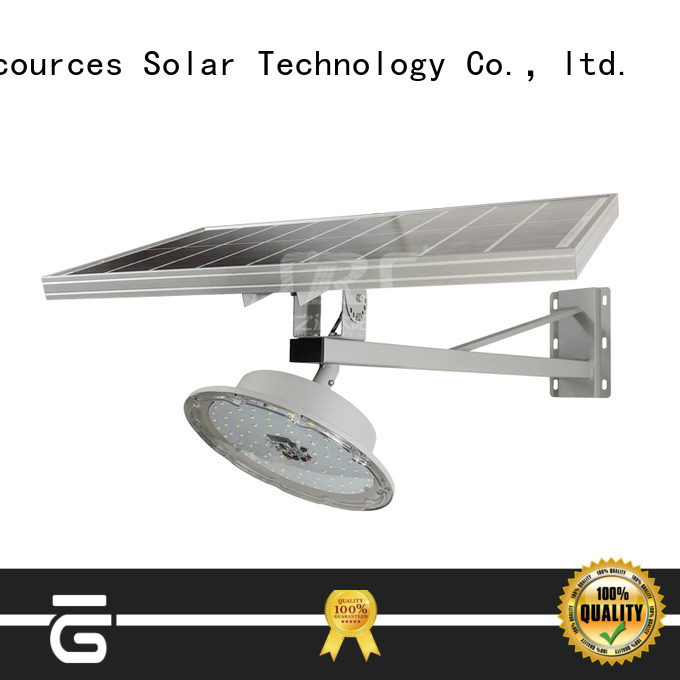 SRS install integrated solar led street light price list for garden