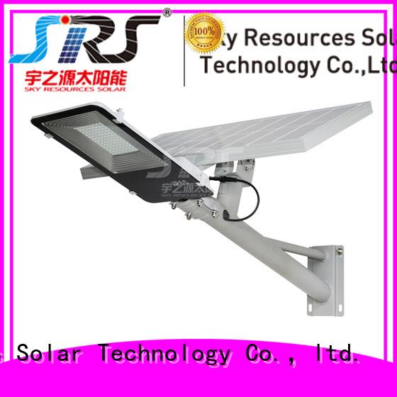 SRS waterproof mini solar street light for flagpole
