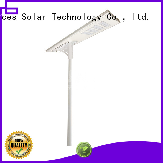 solar garden street light with remote for public lighting SRS