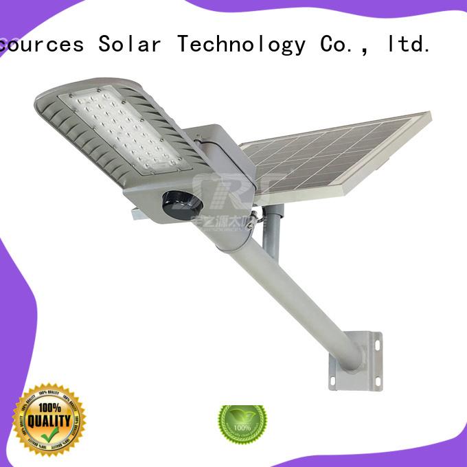 SRS solar road light diagram for fence post