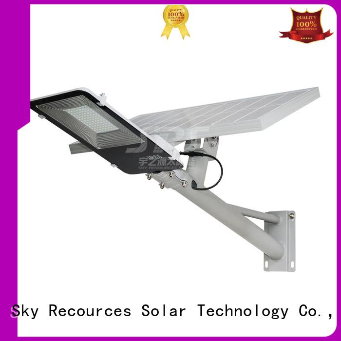 bifacial luminous solar street light configuration for garden
