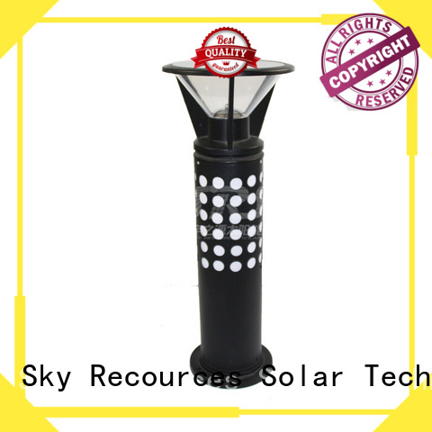 SRS advantages of solar lawn lamps system for pathway