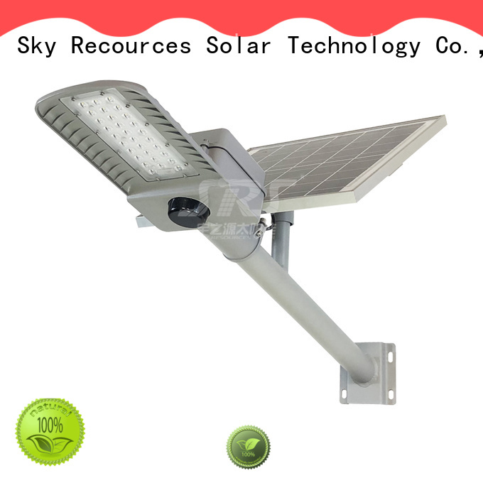 SRS solar light manufacturer specification for flagpole