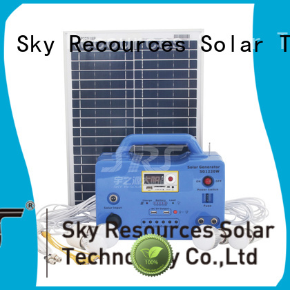 SRS cheap solar panels project for public lighting