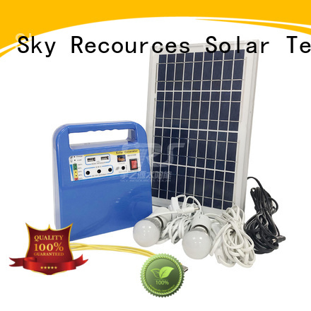 SRS panel solar system project for house