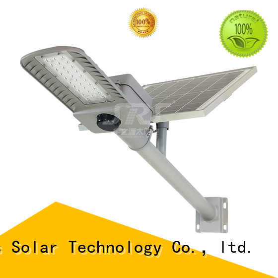 SRS waterproof luminous solar street light specification for fence post