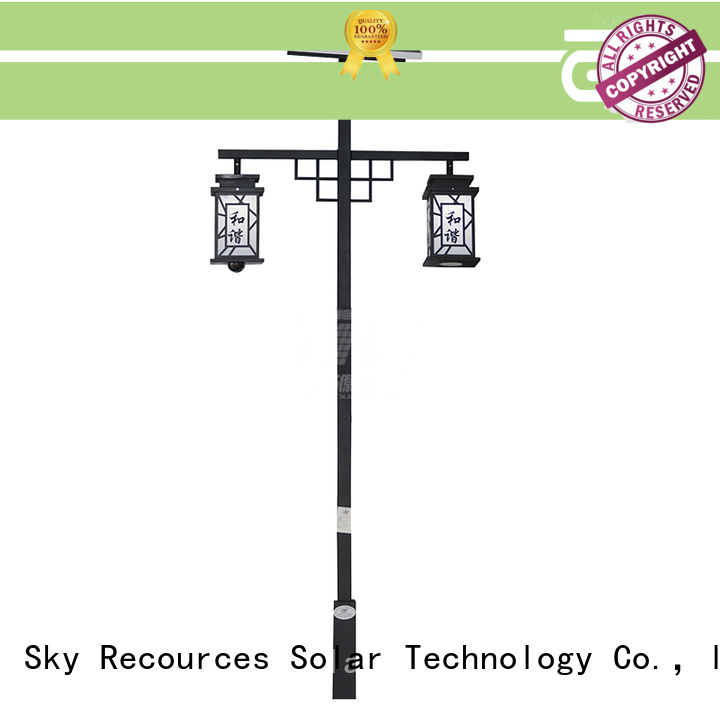 SRS national modern garden lamp post lights make in China for walls