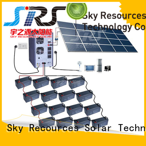 SRS quality portable solar lighting system project