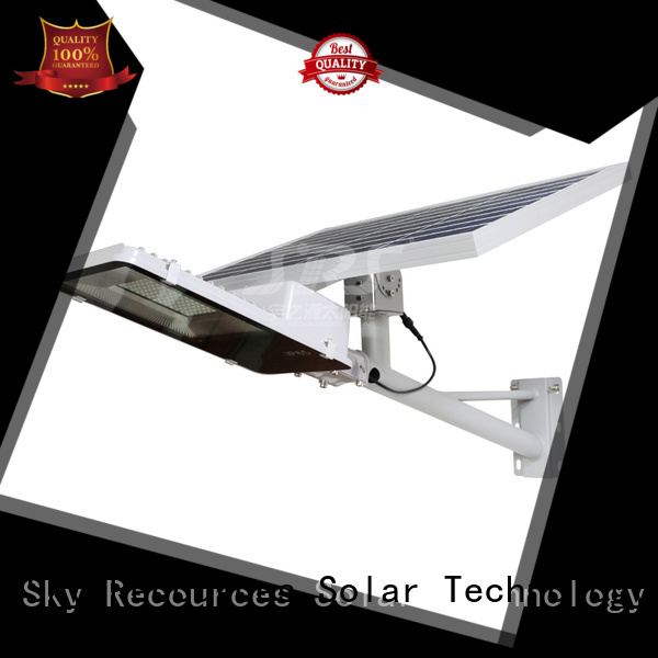 SRS bifacial wholesale solar led street light specification for school