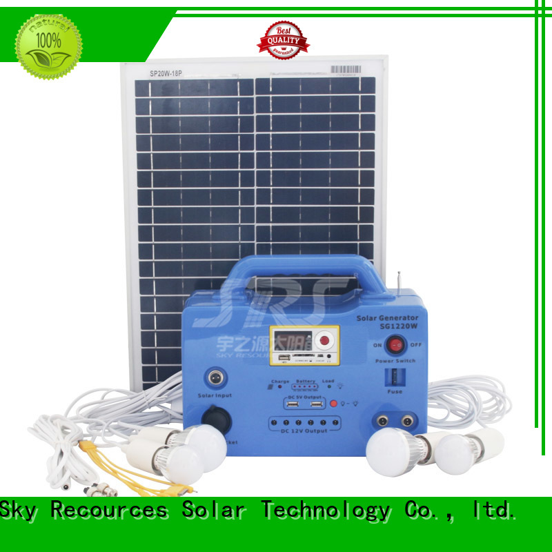 waterproof on grid solar system application for house