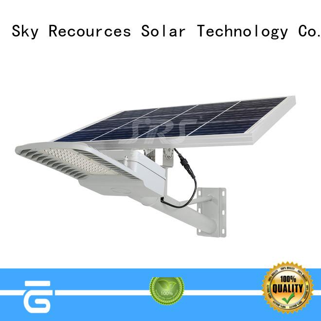 SRS install solar street light set price list for garden